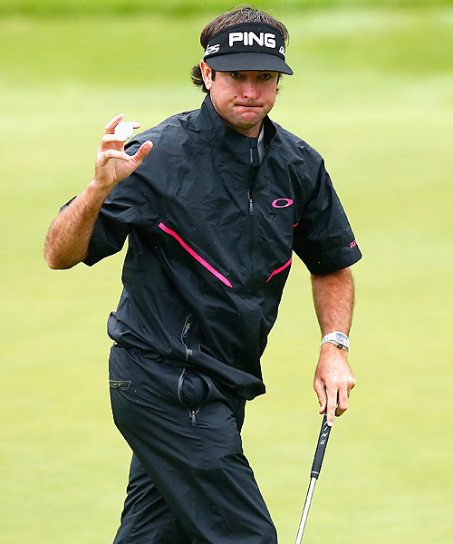 Watson is trying to bounce back from a week to forget at Pinehurst.