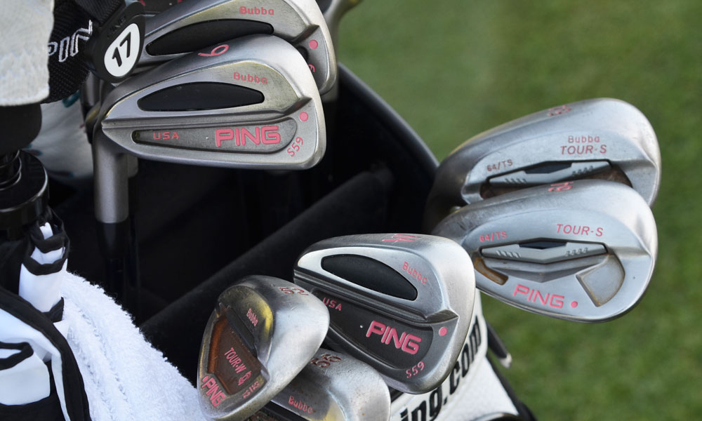 7. Bubba Watson (USA)                       Ping S59 (3-PW) with True Temper Dynamic Gold shafts