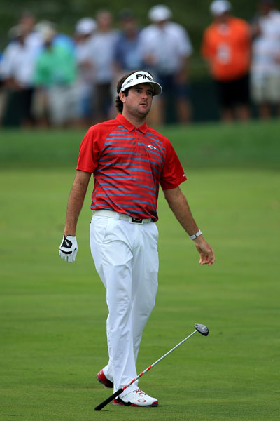 "Bubba Watson                         He's one of the game's folk heroes, but the down-home demeanor that fans love has sometimes gotten the two-time Masters champion in trouble. Here's Bubba on seeing the sites of Paris when in Europe for the 2011 French Open: ""I don't know the names of all the things, the big tower, Eiffel Tower, an arch (Arc de Triomphe), whatever. I rode around in a circle. And then what's that - it starts with an 'L' - Louvre, something like that. One of those."" He later apologized. Bubba hasn't been immune from trouble on American soil, either. He apologized for his behavior during the 2014 PGA Championship, which included hitting an iron off the tee to protest the long-drive contest and losing his cool during the rain-soaked second round."