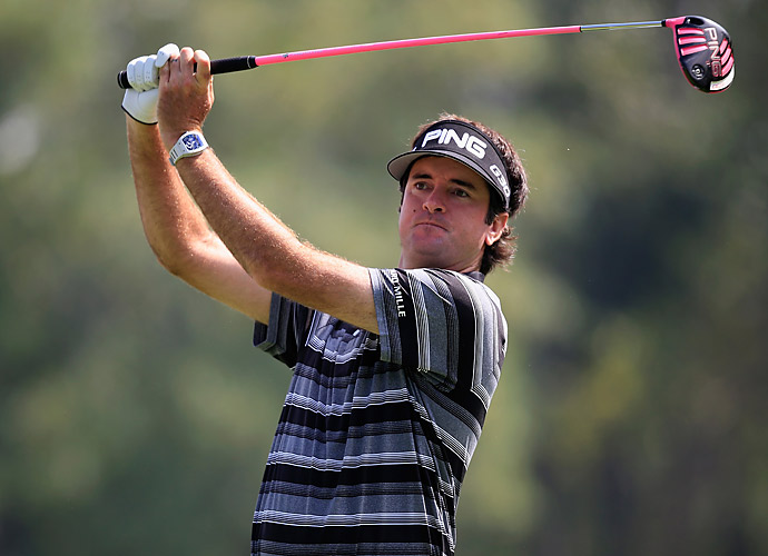 Bubba Watson had a 66 to get within five of the lead.