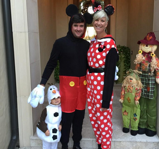 @bubbawatson Monster Mash at Isleworth. #MickeyMouse #MinnieMouse #Olaf