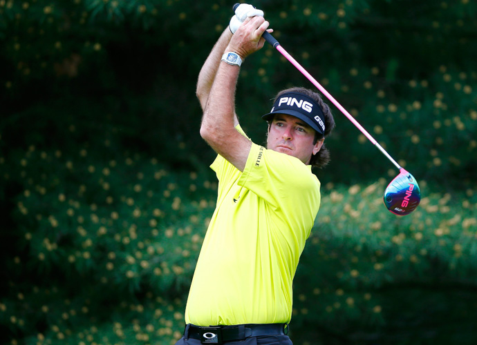 "6: Bubba Watson                         Bubba is one of just two current Tour players to crack the list, but he's the only one to win a major in the past decade. His swing — along with his pink driver — might be ""Bubba long,"" but at certain courses, that defining characteristic isn't beneficial."
