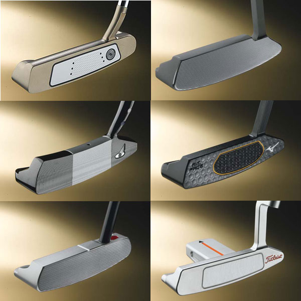 ClubTest June 2008: Blade Putters                           A half-dozen sweet-swinging, smooth-feeling flat sticks.                                                       How We Did It                           We assigned each of our 14 ClubTesters a putting lane on the practice green. Testers struck 12 putts per putter from three to 40 feet. (We provided them with 34- and                           35-inch putters.) Panelists took note of feel, look and                           control, and also shared their overall impressions. Our                           exclusive research partner, Hot Stix Golf, measured roll                           on center hits and heel-toe forgiveness using a mechanical                           putting device.                                                       Where We Did it                           The Hot Stix Performance Center at Legend Trail GC in Scottsdale, Ariz.                                                       Rating System - How it works:                            Testers vote on Look, Feel and Control. The winning                           model (the one that receives the most points) is                           awarded GOLF Magazine/ClubTest 5-star status.