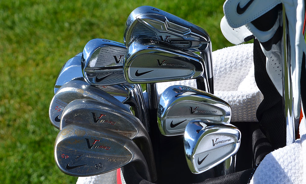 Carl Pettersson uses Nike's VR Pro Combo irons, but took out the 4-iron and replaced it with a Nike VR_S Forged 4-iron. The Swede also uses VR Pro wedges.