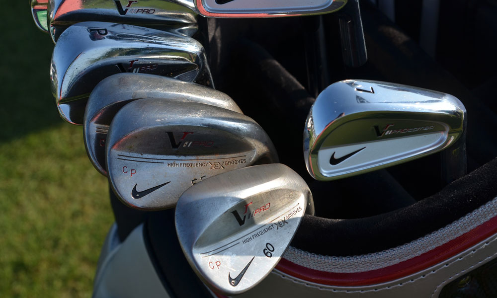 Carl Pettersson plays Nike's VR Pro Combo irons and VR Pro Forged wedges.