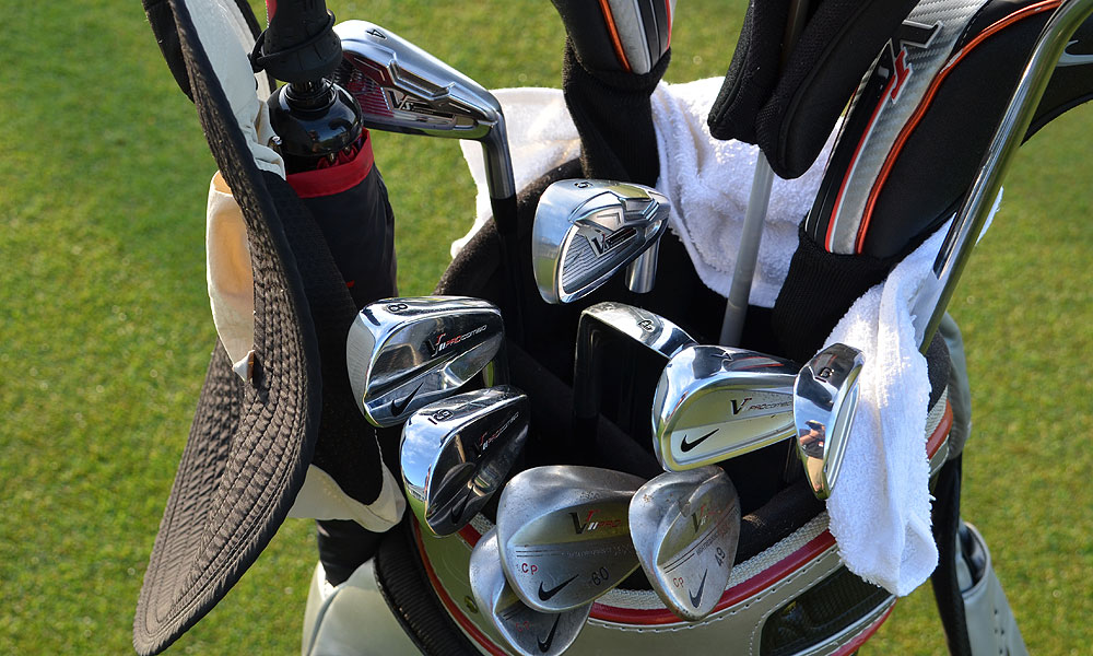 Carl Pettersson used Nike VR_S Forged 4- and 5-irons and a set of VR Pro Combo irons to shoot 66 on Thursday.