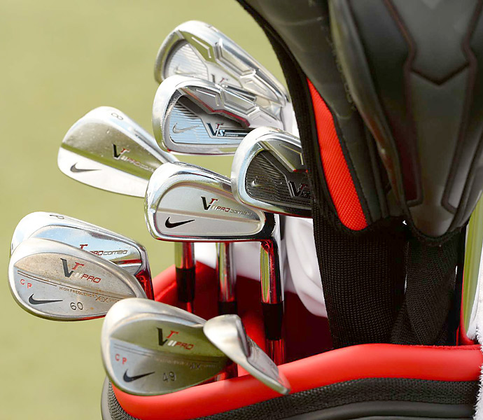 Carl Pettersson has Nike VR Pro Combo and VR_S Forged irons in his bag.