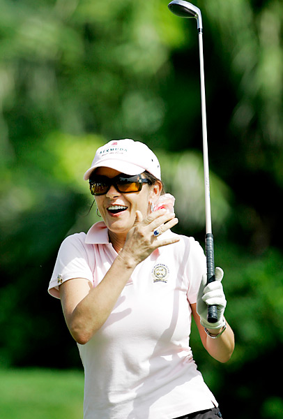 Zeta-Jones also played in the pro-am for the 2007 PGA Grand Slam of Golf tournament in Bermuda.