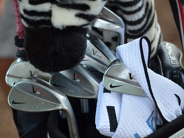 Charl Schwartzel plays Nike's VR Pro wedges and VR Pro Blade irons.