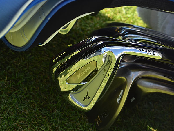 Charles Howell recently switched to Mizuno's MP-59 irons, which should start arriving in pro shops in early September.