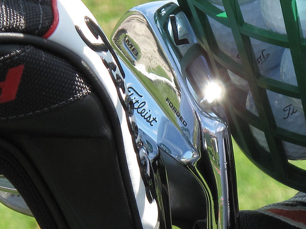 has made the switch to Titleist's new MB irons.