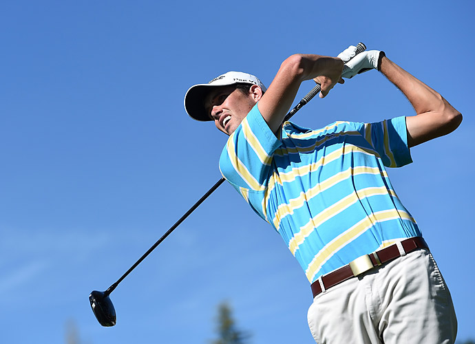 Chesson Hadley struggled on Thursday.