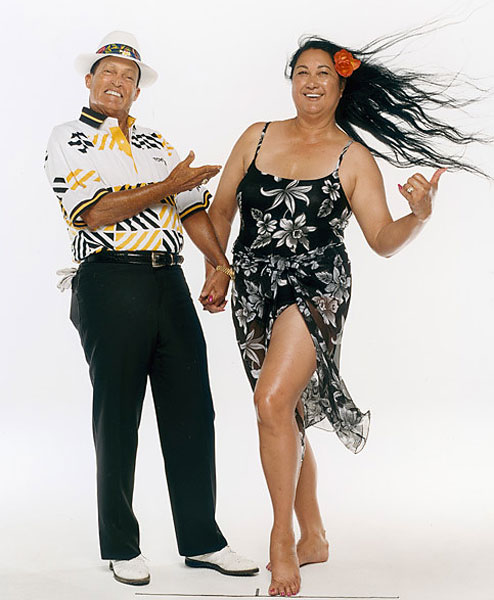 "Chi Chi and Iwalani Rodriguez appeared as part of the ""Better Halves"" portion of the 2002 issue."