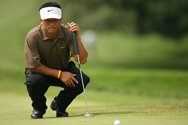 Player: K.J. Choi                             Current standing: fifth                             Total Points: 103,100                             Best Finish at East Lake G.C.: T9th (2002)                             • Choi wins the FedEx Cup if he wins the Tour Championship, Woods finishes 22nd or worse, Stricker finishes fourth or worse and Mickelson finishes worse than a two-way tie for second.