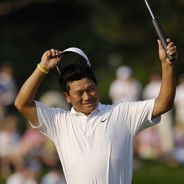 5 Things You Didn't Know ... AT&T National                       GOLF.com goes deep inside the numbers to explain how K.J. Choi won his second tournament of the year and why Stuart Appleby should spend more time on the practice green.                                              Choi drove well, but putted even better                       K.J. Choi, winner of the Memorial in June, enjoyed a great week from the tee box. His average drive was 308.8 yards (T15) and he found 73.2% of the fairways. But it was Choi's putting that earned him the W at the AT&T National. Using an extremely oversized putter grip, Choi ranked second in the field at Congressional in putts per green in regulation at 1.68. On the season Choi ranks 44th at 1.77.