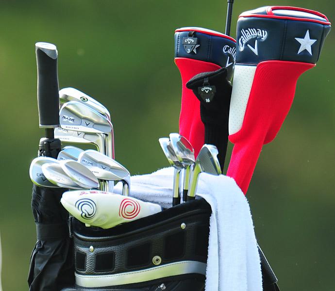 Chris Doak has Callaway RAZR X Muscleback Irons in his bag.