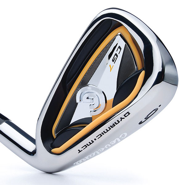 "$599, steel; $699, graphite                       clevelandgolf.com                                              It's for: All skill levels                                              Steve Chien, VP of R&D:                       ""Our R&D team was                       challenged to develop a club that's traditional in                       shape and packed with technology to outperform its                       competition. The result is our two most technically                       advanced irons (the CG7 and CG7 Tour). Each offers                       improved feel due to '360-degree Gelback' technology and                       more distance and forgiveness, in a classic look.""                                              How it works: A one-piece, molded viscoelastic insert around the                       perimeter of the cavity and base of the head (Gelback) absorbs                       shock at impact for more consistent feel across the face. Progressive                       ""micro-cavity"" technology (decreases in size from long to short irons)                       fosters control throughout the set. The micro-cavities enable up to                       9 grams to be shifted from topline to sole. The CG7 has a 5 percent                       higher MOI and a 10 percent deeper center of gravity than CG Gold                       irons, for greater ball speed and overall distance.                                              CG7 Tour irons, designed for low and mid-handicappers, feature                       a smaller blade, thinner topline and less offset than the CG7. The                       center of gravity in the CG7 Tour is 17 percent deeper than the                       CG Red irons.                                              Compare and Buy These Irons"