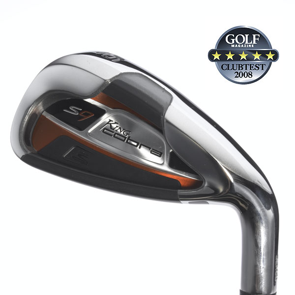 "Cobra S9                        $699, steel; $799, graphite                                                                      We tested: 4-GW in Graphite Design YS graphite shaft. Shaft length/loft (6-iron): 37.5""/28.5°                                               Company line: ""A three-piece polymer topline allows 13 grams to be redistributed lower in the heel and toe, for a lower CG, higher MOI, higher launch and more accuracy. The wide sole has a chamfer relief in the center section to limit turf contact.""                                               Voted Best for Accuracy                                              Our Test Panel Says:                        PROS: Tops for accuracy in the test; wonderful balance of help on mis-hits while still hitting it where you want it, not where it's programmed; feel is a strong suit, impact is pure, crisp and smooth; offset head is not so obtrusive; nice, balanced feel on chips; S9 has a very clean look for a max game-improvement club; consistent, repeatable distances on solid strikes; oval aid on the face helps to line up.                                               CONS: Generous, but not as forgiving as some pre-programmed competitors; mis-hits are less kind to distance than direction.                                               ""Perfect clubs for high handicappers."" — Bud Adler"