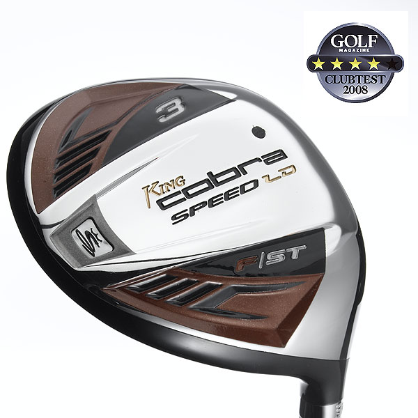 "Cobra Speed LD                            $179, graphite                            cobragolf.com                                                      We tested: F/Speed 3 (15.5°)                            and 5 (18°), M/Speed 3 (15.5°) and 5 (18°) in Graphite Design Tour AD YS graphite shaft. Shaft length (3-wood): 43"", graphite                                                      Company line: ""These feature a deeper CG for longer, more accurate shots. The large face design makes these more forgiving across the entire face, allowing you to tackle tight lies and rough with confidence.""                                                       Our Test Panel Says:                            PROS: Very respectable distance, tied for second-longest in test; good balance of forgiveness and playability that could suit a broad range of handicaps; high ball flight that doesn't balloon, but rather leads to nice carry and soft landings; no problem hitting out of rough; offset version is a nice option; top-notch from fairway lies.                                                       CONS: Testers are left wanting more feel and sound at impact, lacks a bold ""pop"" off the face; light head feel during swing; high launch with added backspin may spell trouble for some.                                                       ""High marks for solid all-around performance."" — Mark Barrette (15)"