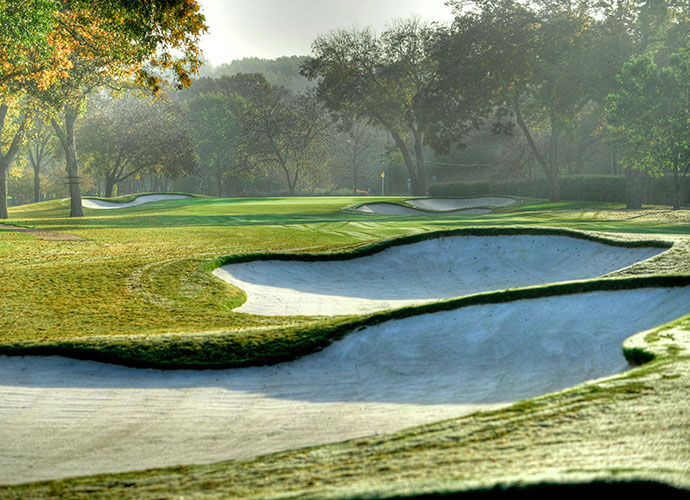 "8. Perry Maxwell: Lauded for his original designs in nearby Oklahoma (Southern Hills) and Kansas (Prairie Dunes), Maxwell left his mark in Texas with his 1940 design of Colonial's ""Horrible Horseshoe,"" holes 3, 4 and 5, in preparation for the club's hosting of the 1941 U.S. Open."