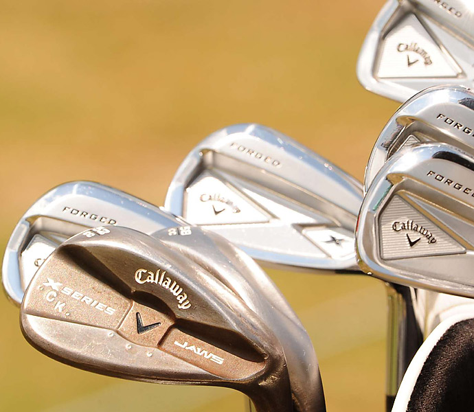 Colt Knost has Callaway X Series JAWS wedges in the bag.