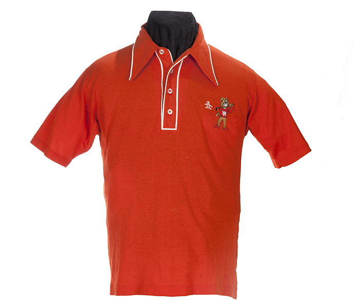 Fred Couples' uniform from the University of Houston Golf team, 1979.