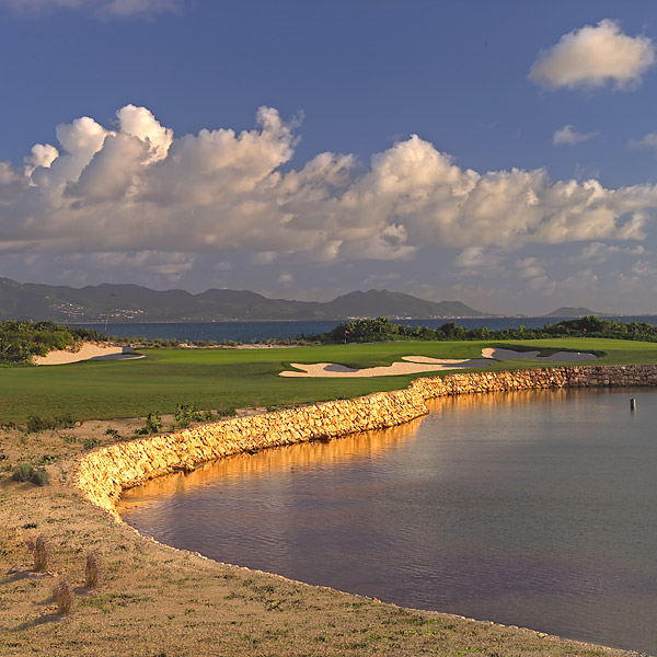 15. CuisinArt Resort Golf Club in Anguilla, BWI: Formerly known as Temenos when it debuted in 2006, this artistic, 7,063-yard Norman creation smacks you in the face with its stunning opener. Panoramas of St. Maarten and the Caribbean Sea greet you on the tee shot, followed by a four-story drop to a green that sits dangerously close to a saltwater lagoon. Beachside greens, mangrove thickets and Rendezvous Bay backdrops are added attractions.