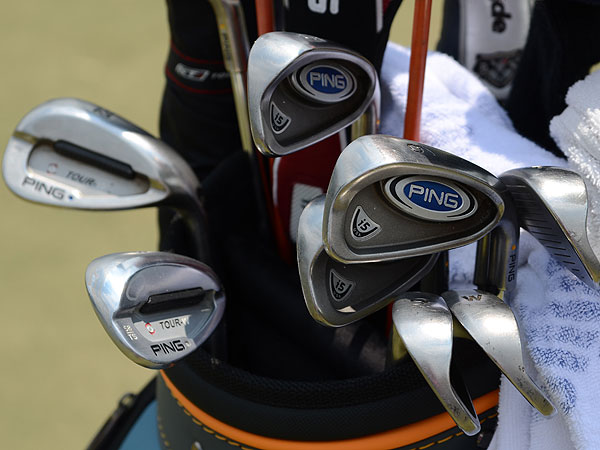 D.A. Points uses venerable Ping i5 irons and the company's new Tour-W TS wedges.
