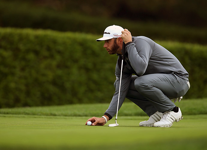 The best round of day belonged to Dustin Johnson. His 6-under 66 helped him climb into a tie for second place, one stroke shy of Walker's lead.