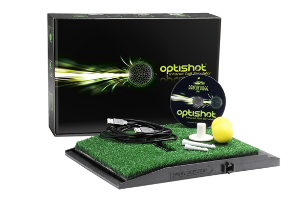 OptiShot Infrared Simulator by Dancin' Dogg Golf                       $400, dancindogg.com