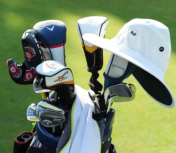 Danny Lee carries Callaway RAZR X Muscleback irons and custom-stamped Callaway Mack Daddy 2 wedges.