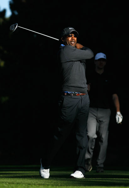 Singer Darius Rucker is a pro-am regular. He and his Hootie and the Blowfish bandmates also host Monday After the Masters, a fundraiser tournament in their native South Carolina.