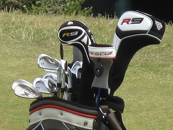 used these TaylorMade clubs to finish second in the Scottish Open on Sunday, earning him a spot in the field this week at the British Open.