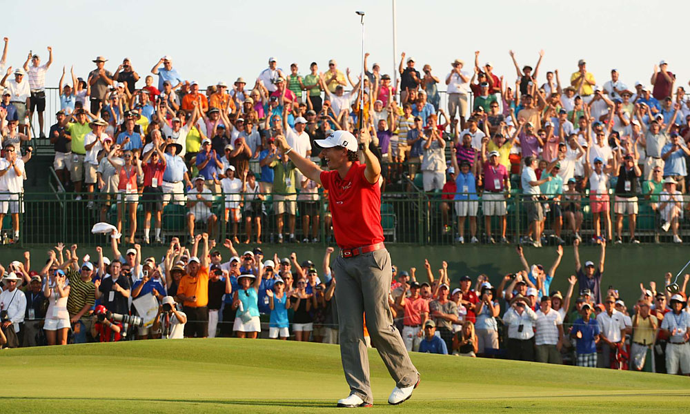 Rory McIlroy, 2012 PGA Championship: 8 shots                             McIlroy's eight-shot win at Kiawah Island eclipsed Nicklaus's seven-shot win at the 1980 PGA Championship.  Read More...