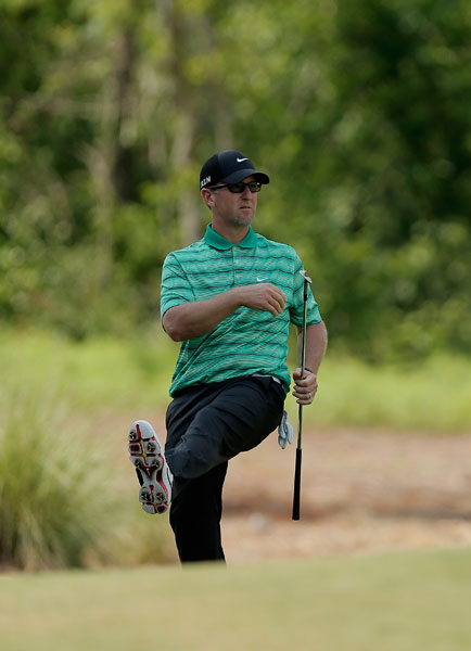 David Duval shot a 3-under 69 and was -7, eight shots back of the lead after two rounds.