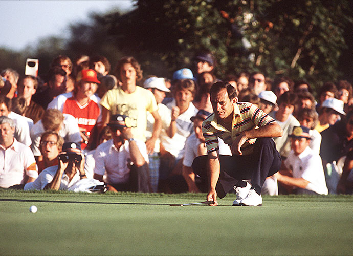 Graham's first major victory came in the 1979 PGA Championship at Oakland Hills. Graham double-bogeyed the 18th hole, still shot 65, and won a sudden-death playoff over Ben Crenshaw at the third hole.