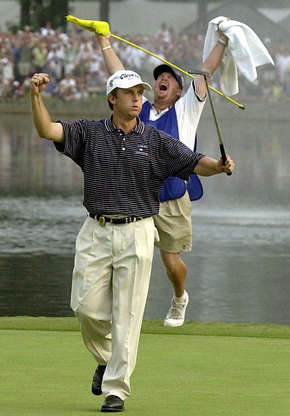 David Toms won his only major at the 2001 PGA Championship at the Atlanta Athletic Club by finishing a stroke ahead of Phil Mickelson.