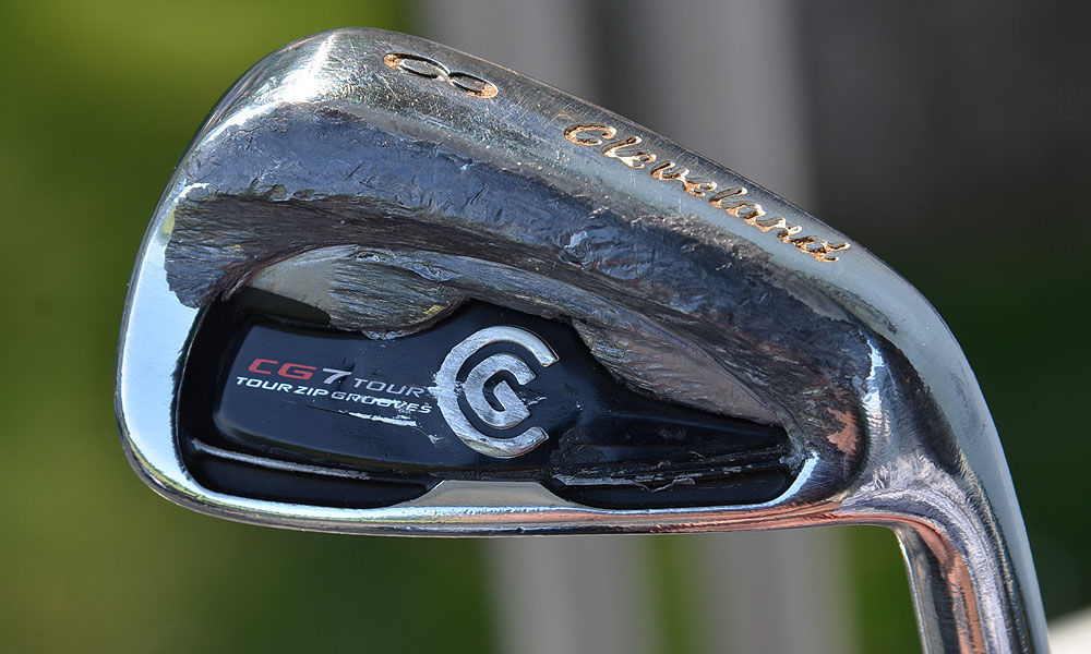David Toms is the defending champion at Colonial, and this week he's playing heavily taped Cleveland CG7 Tour irons.