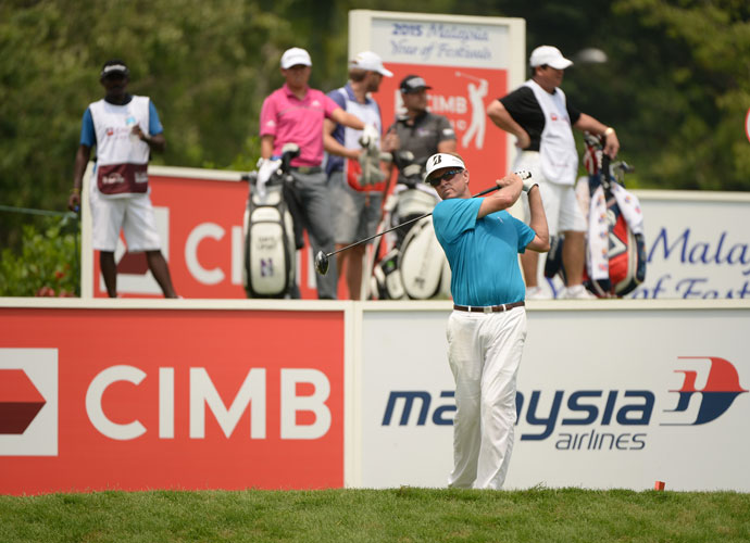 50-year-old Davis Love III shot a 4-under 68 in the opening round of his first CIMB Classic.