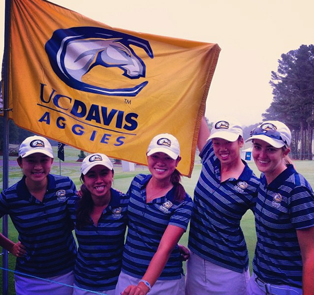 @demifrances: So excited for what tomorrow and this week will bring! To all the #UCD Aggies out there, send some good vibes our way! #NCAAWGolf #lastcollegetourney #howhungryisyourchicken #AggiePride #swaggies