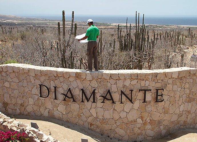 MY TOP TIGER MOMENT: It's tough to top talking architecture with Tiger Woods at Diamante's El Cardonal, in Cabo San Lucas, Mexico, slated to be Tiger's first completed design when it opens in 2014. His emphasis on walkability and playability for all was refreshing, but I confess: I enjoyed talking Pac-12 football with the guy as much as I did talking shop.