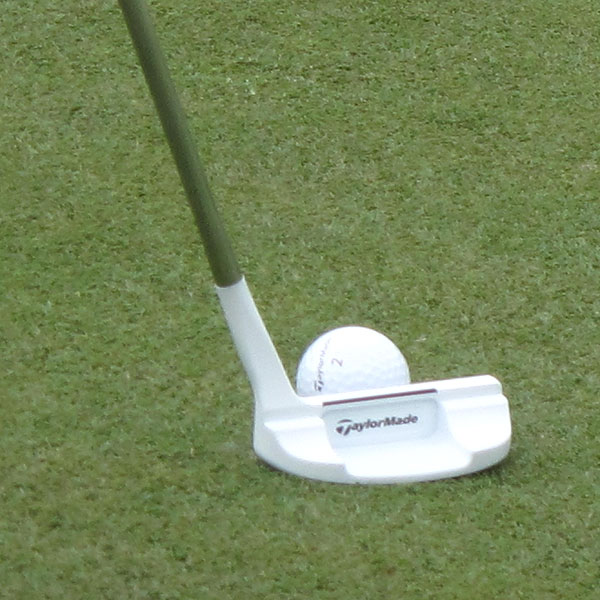 This week at TPC Four Seasons, Johnson has been testing a new TaylorMade prototype Ghost putter.