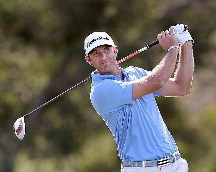 Tournament: Tournament of Champions                             Champion: Dustin Johnson                             Driver: TaylorMade R1