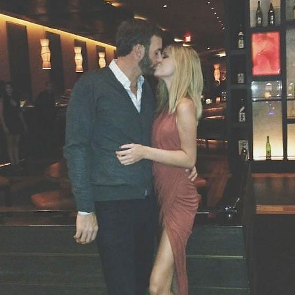 Since starting their year together in Hawaii, Johnson and Gretzky have posted pictures of many of their outings on Twitter and Instagram. Johnson posted this picture of the two at Yellowtail.