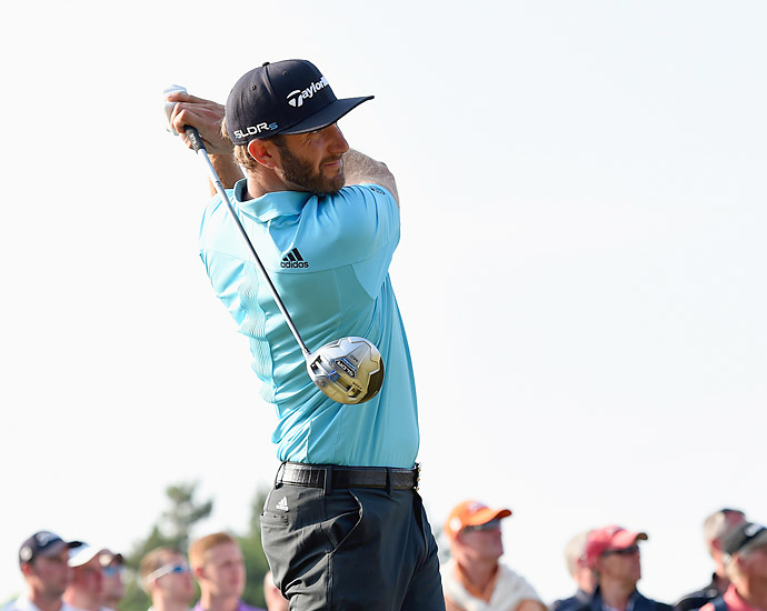 2. Dustin Johnson                           Driving Distance [avg.]: 311.0 yards