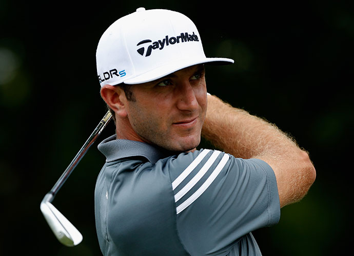 Dustin Johnson fired a 5-under 65 to take the lead in opening round of the Crowne Plaza Invitational at Colonial in Fort Worth, Texas. The eight-time Tour winner is looking for his first victory since the 2013 WGC-HSBC Champions in November.
