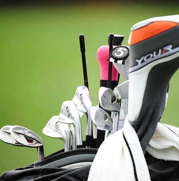 Dustin Johnson plays TaylorMade Forged MB irons.