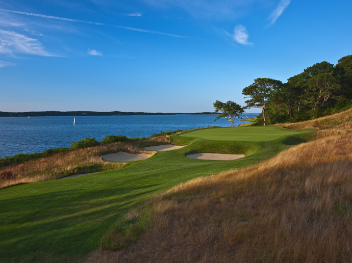 "Eastward Ho!, No. 78 U.S.                       Architect Herbert Fowler left his imprint on ""Old"" England with designs such as Walton Heath and the Berkshire. His sole foray into New England yielded 1922's Eastward Ho!, a lay-of-the-land Cape Cod beauty that overlooks the aptly named Pleasant Bay. Fescue-fringed holes tumble up and over small ridges, providing maximum variety and an Old World look."