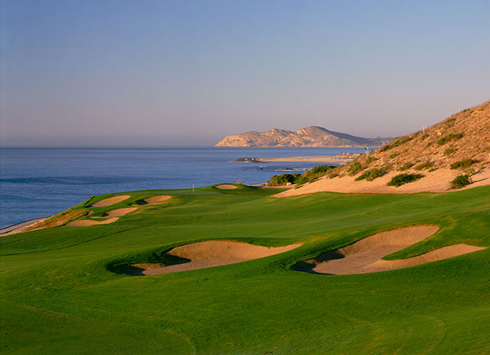 El Dorado, Los Cabos                           Jack Nicklaus' third design in Los Cabos is a private development layout now under the Discovery Land Company umbrella. Set into the mountain-laced terrain of Sierra de la Laguna, El Dorado boasts several holes overlooking the Sea of Cortez, though others were sacrificed from the original design to make way for high-priced real estate.