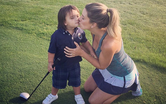 @ellielaneday Family golf night with @JDayGolf
